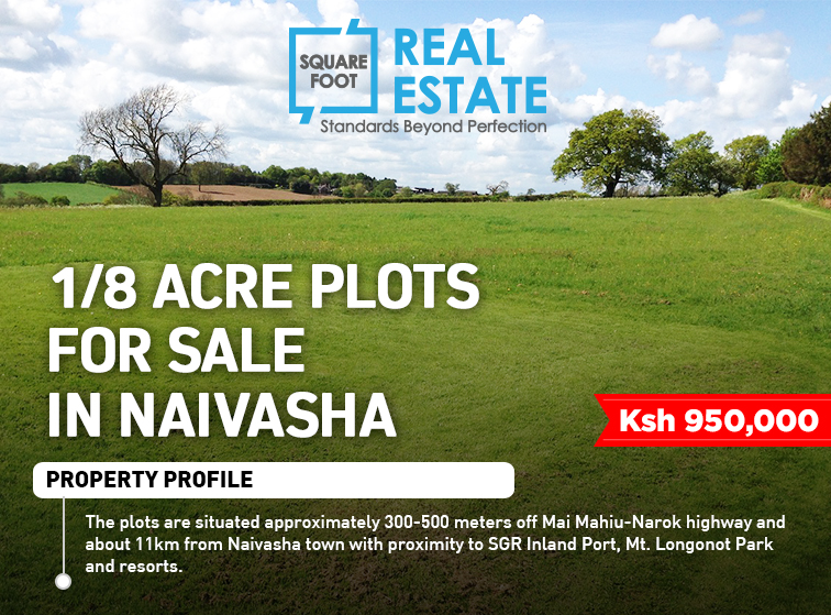 PLOTS FOR SALE, Naivasha